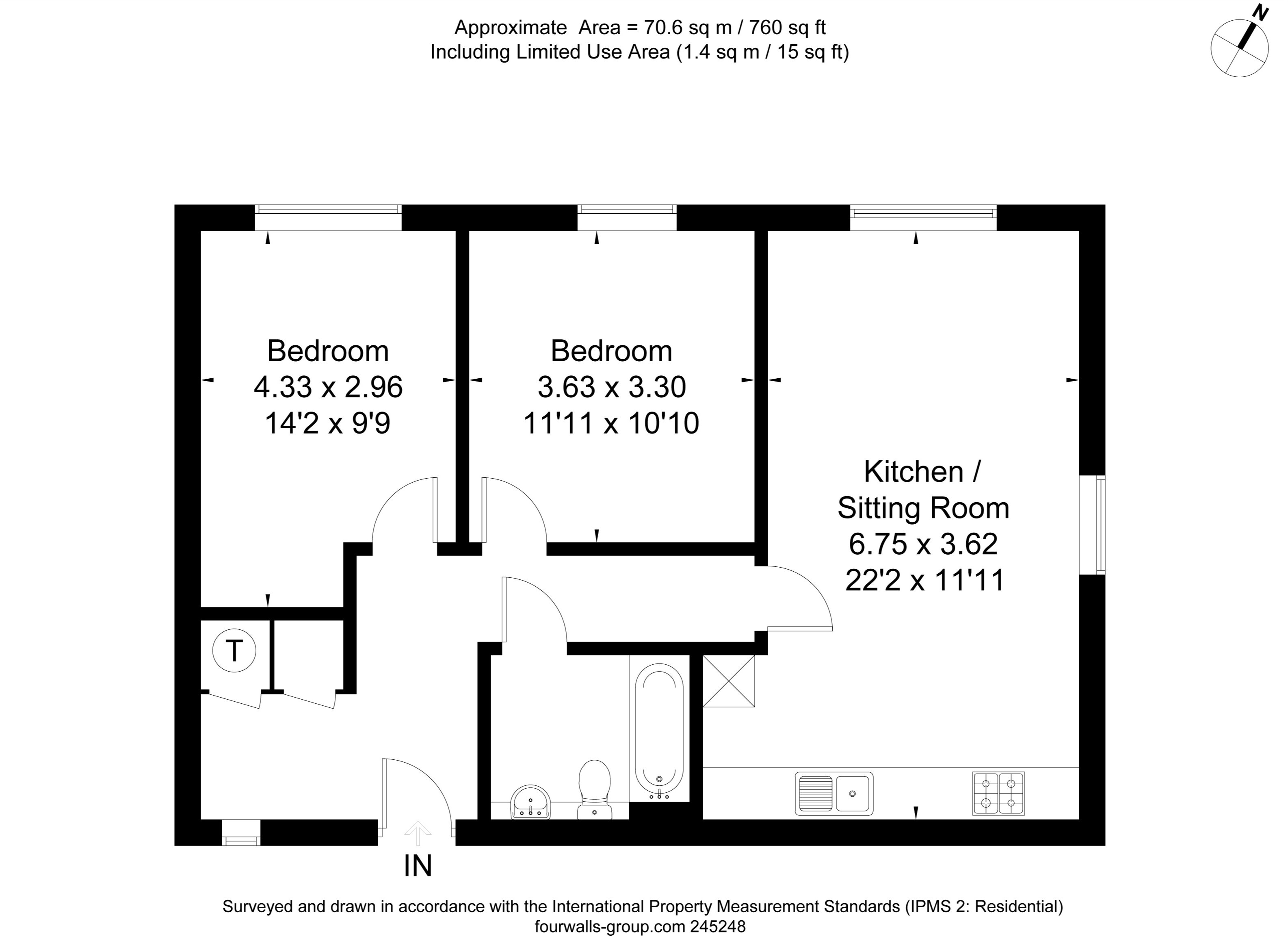 Floor Plan Ruskin Court southern Home Ownership