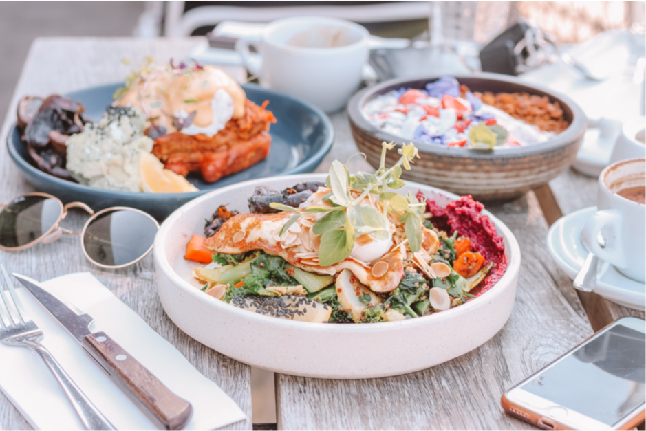 East London - Healthy Eating Cafes