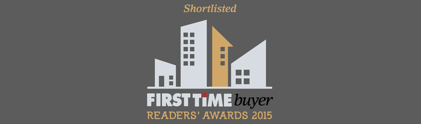 We've been nominated for the First Time Buyer Readers Awards